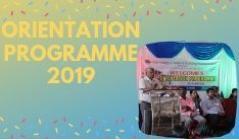 ORIENTATION PROGRAMME  2019