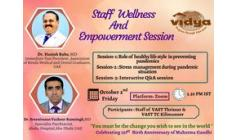 Staff Wellness and Empowerment Session