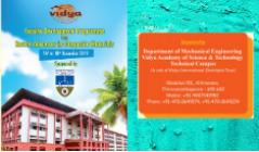 KTU Sponsored Faculty development programme on