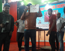 Third position in National level arm wrestling