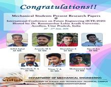 Mechanical Engineering Students's achievement
