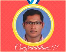 Won Bronze Medal and Silver medal in Kerala University
